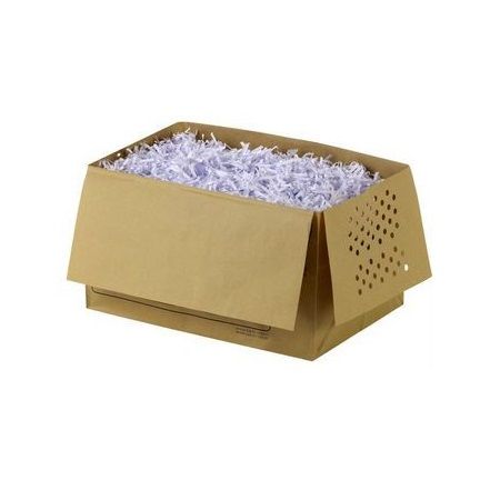 20 sacchi riciclabili per distruggi documenti 26 lt